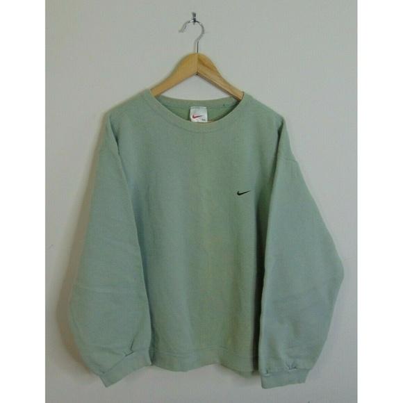 cfba819ba69 Vintage 90 s Nike 2XL Crewneck Sweatshirt Green. M 5ca4f57f2e7c2f779d8ac22a